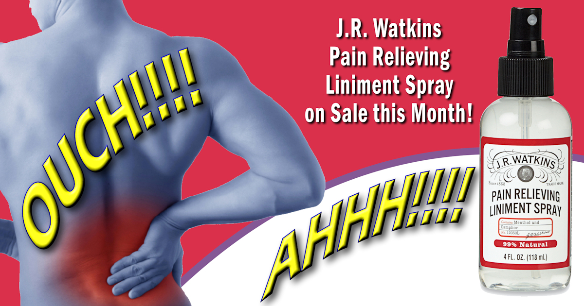 JR Watkins Pain Relief Spray