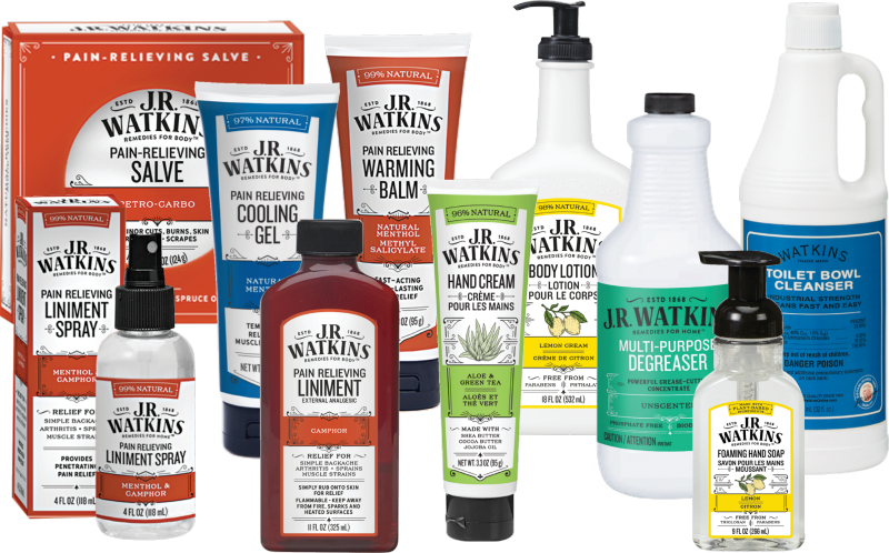 J.R. Watkins Non-Food Products